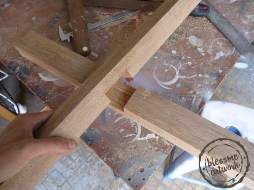 cara membuat kaki tiang