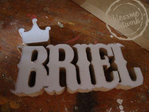 pembuatan huruf dari kayu