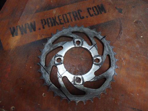 daur ulang gear sepeda motor