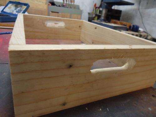 cara membuat krat dari kayu jati belanda
