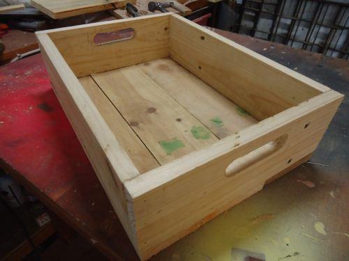 cara membuat krat kayu pinus