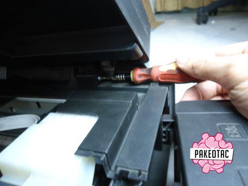 Cara melepas scanner epson l210