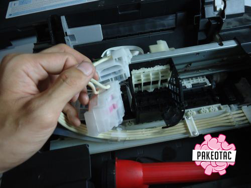 Cara melepas head printer Epson L210