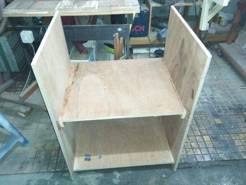 membuat meja untuk table saw