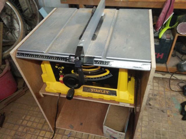membuat meja table saw stanley