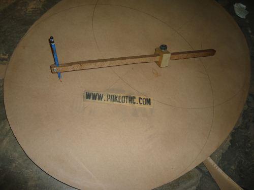 cara membuat jangka kayu