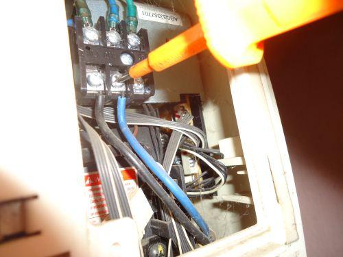 kabel kompresor unit indoor
