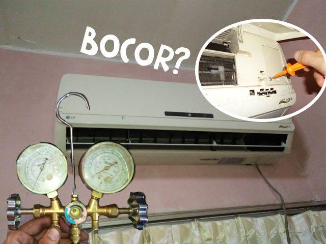 Cara memperbaiki a/c rumah (bocor)