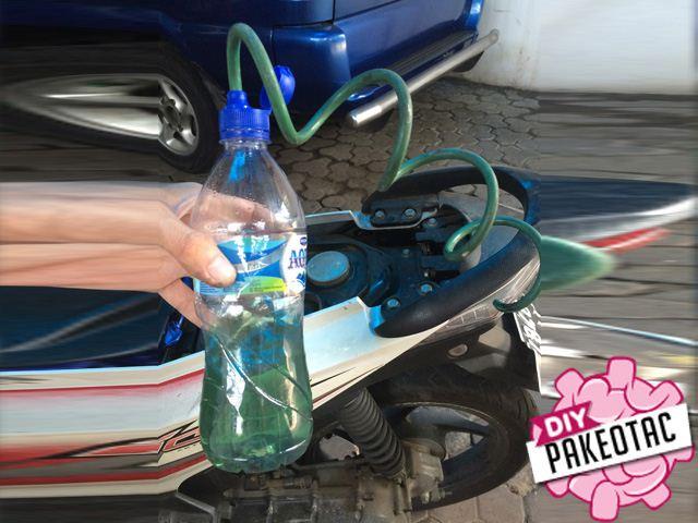Cara mudah menyedot bensin