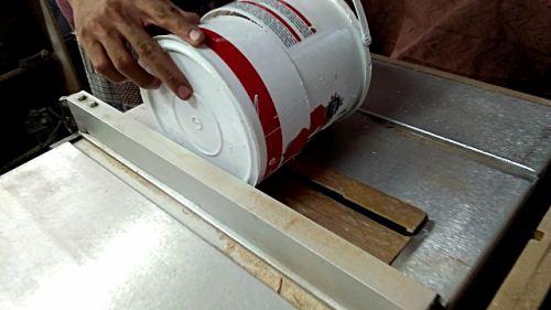 cara membuat cetakan ice tart