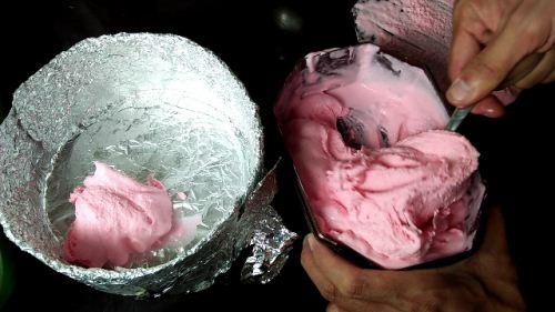 cara teknik membuat ice tart