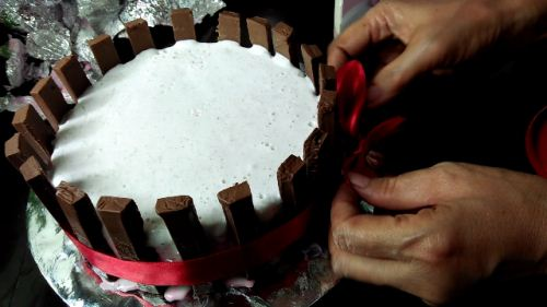cara gampang bikin es cream tart