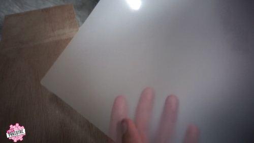 plastick laminating untuk stencil