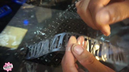 cara membuat stencil menggunakan mesin cutting jinka pro