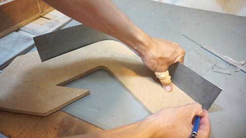 cara membuat marquee lamp