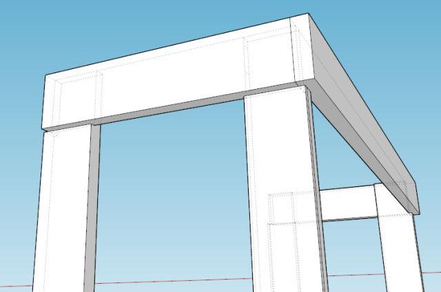 design meja mesin bubut