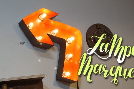 How to make marquee lamp
