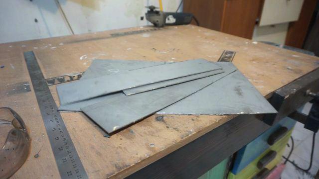 galvanized steel cut