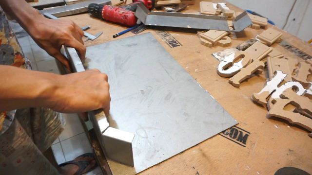 how to make steel box