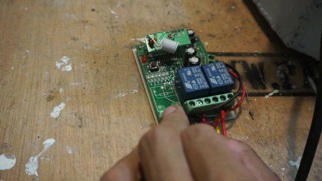 controller rf remote control 2ch