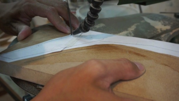 making tappered legs MDF