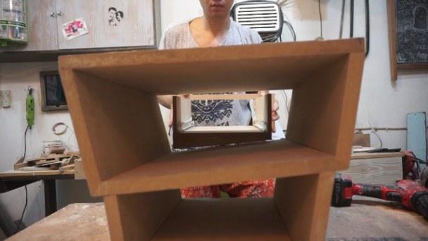 Making nightstand drawer