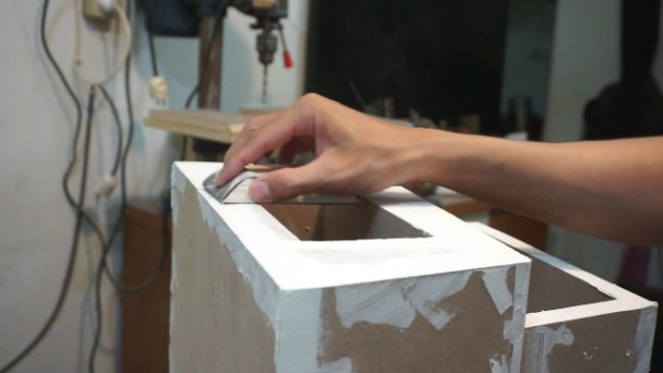 Painting preps table