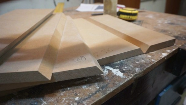 Material for making bedside table