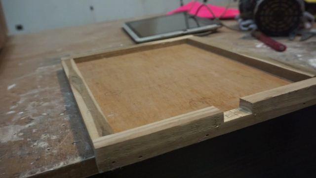 case ipad kayu