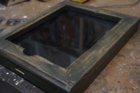 DIY ipad wooden case