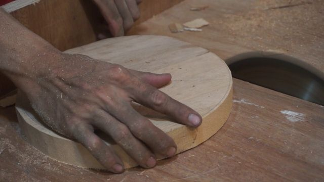 how to cut circle using table saw