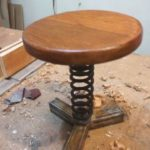 How to make Industrial stool