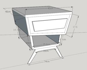 plan bedside table