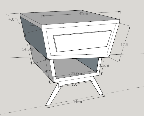 plan bedside table