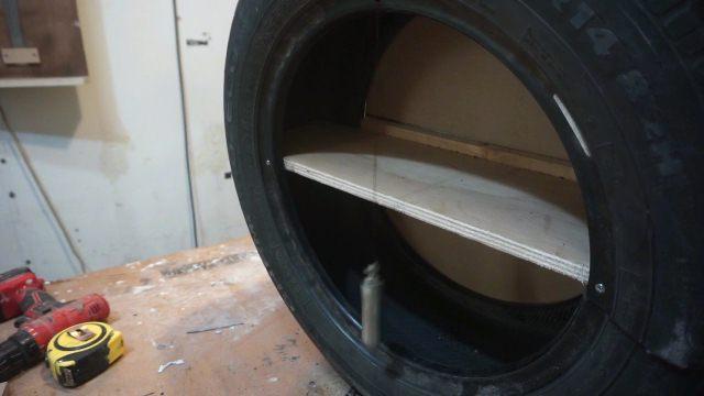 simple auto door mechanism