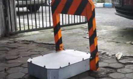 Alat anti parkir otomatis