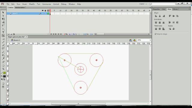 design sendiri template fidget spinner