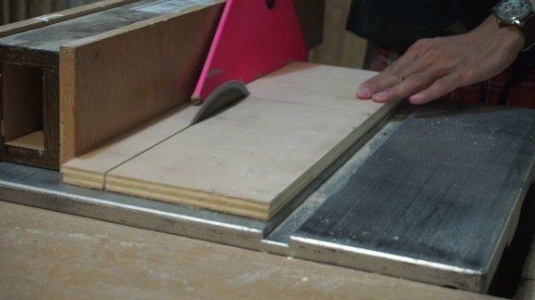 miringkan table saw