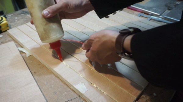 cara membuat plywood tertekuk
