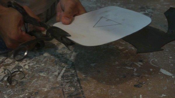 Cara menggunakan Gunting plat