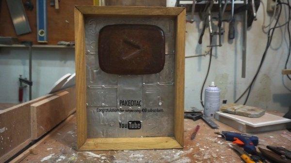 Bikin sendiri Youtube Play Button Indonesia