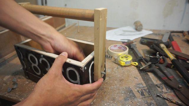 DIY toolbox plat nomer