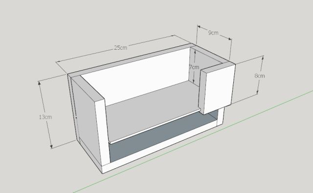 Plan projek kayu toolbox