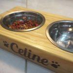 Project kayu simple | Tempat makan kucing/anjing
