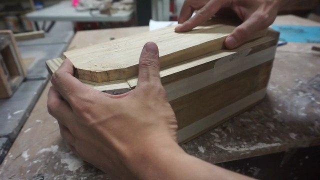 Membuat sendiri kotak kayu tanaman