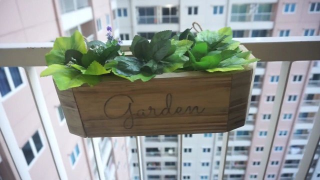 box tanaman kayu rustic