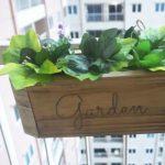 Membuat sendiri kotak tanaman gantungan vintage