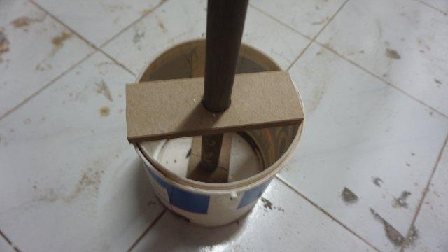 membuat tiang semen sendiri