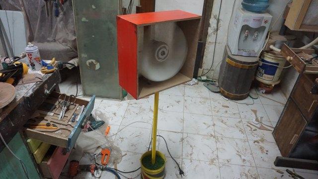 cara membuat filter udara workshop