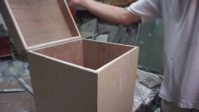 teknik membuat box kayu